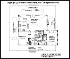 Small Country Cottage House Plan SG   AA Sq Ft   Affordable    SG  Main Floor Plan