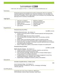 examples of resumes simple sample resume format examples of resumes best security guard resume sample 2016 resume samples 2017 in 89 wonderful