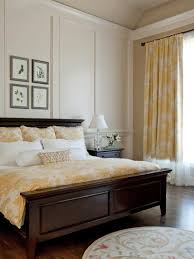 yellow and gray bedroom:  original rachel oliver yellow bedding drapery traditional bedroomjpgrendhgtvcom