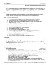 cover letter for vb net developer cover letter templates net developer resume asp format