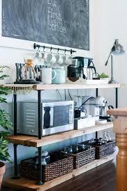 diy black pipe coffee barstation unique diy coffee station