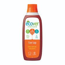 ecover жидкий концентрат с льняным маслом для мытья пола 1 л