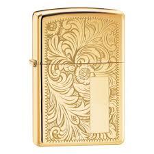<b>Зажигалка ZIPPO Venetian</b>® с покрытием High Polish Brass ...