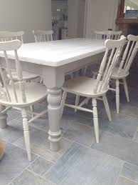 Distressed White Kitchen Table Farmhouse Oval Dining Table 10 Thrift Store Table Refinished To