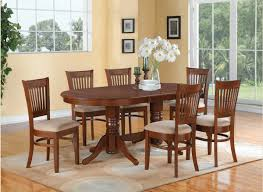Dining Room Furniture Vancouver East West Furniture Vancouver 7 Piece 76x40 Oval Dining Room Set W