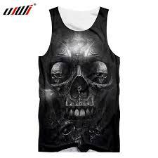 UJWI <b>Men's</b> Print Terror <b>Skull</b> Casual <b>Shorts</b> Summer Board <b>shorts</b> ...