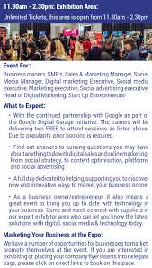 digital s marketing technology expo 2017 hosted by headz marketing your business at the expo we have a number of opportunities for businesses to market promote themselves at the event please book directly on