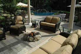 covered patio freedom properties: customized gas campfire  kammerman customized gas campfire