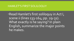 hamlet act focus questions ghost partner hamlet s first 2 hamlet s first soliloquy
