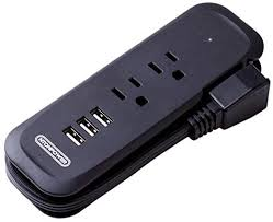 Travel Power Strip with USB - NTONPOWER 2 Outlets ... - Amazon.com