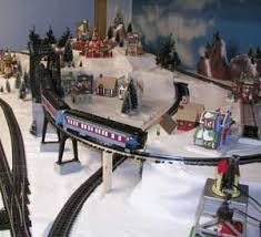 Lemax Christmas Village and Lionel train set Christmas Village ...