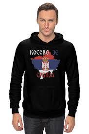 Толстовка Wearcraft Premium унисекс <b>Косово</b> - <b>Сербия</b> #1135370 ...