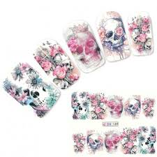 nail art sticker water decals sweet love english letter design decoration manicure nails slider stickers foil wraps pegatinas