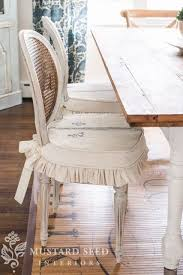 size sew dining chair