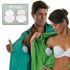 <b>100pcs 50 Packs</b> Summer Armpit Sweat Pads <b>Underarm</b> ...