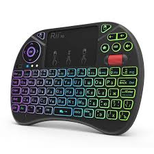 <b>RII X8 Plus</b> 2.4G Air Mouse Wireless Keyboard with Touchpad ...