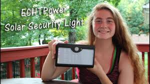 ECHTPower 60 <b>LED Solar</b> Security <b>Lights</b> MOTION SENSOR ...