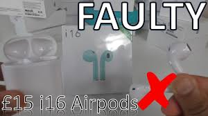 SCAMMED AGAIN!! I Recieved These FAULTY <b>i16</b> Wireless Airpods ...