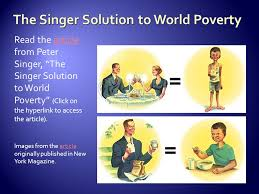the singer solution to world poverty essaythe rhetorical triangle is defined as a diagram showing the     read the article  singers solution to world poverty essay