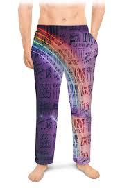 Мужские пижамные штаны ЛЮБОВЬ <b>LOVE</b> #2627372 – заказать ...