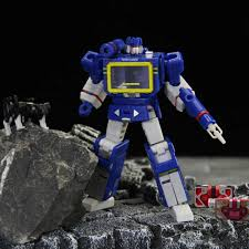 PT Transformation Soundwave PT 04 Emitter Recorder Figure <b>Mini</b> ...