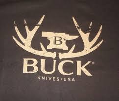 NEW <b>BUCK</b> KNIVES <b>Men's</b> Brown T Shirt XXL 2XL Whitetail <b>Buck</b> ...
