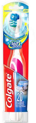 """<b>Электрическая зубная щетка Colgate</b> Colgate Зубная щетка """"360 ..."""