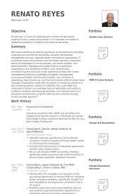 insurance resume samples   visualcv resume samples databaseinsurance consultant resume samples