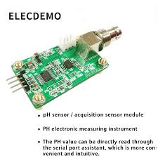 <b>PH value detection acquisition</b> sensor module pH sensor water ...