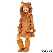 <b>Girl's</b> Sweet <b>Fox Costume</b> | Oriental Trading