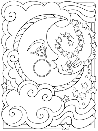 Small Picture Fancy Sun And Moon Coloring Pages 11 About Remodel Coloring For