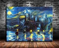 Castle Oil Painting <b>Canvas</b> for Sale