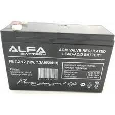 <b>Аккумулятор Alfa Battery 12V</b> 7.2 Ah AB-12-7.2   fondim27.ru