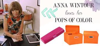 anna wintour home office inspiration pops of color anna wintour office google