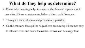 difference between cost accounting and financial accounting difference between cost accounting and financial accounting