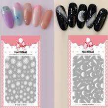 1 лист <b>наклейки для ногтей</b> Moonlight стикеры 3D <b>на ногти Nail</b> ...