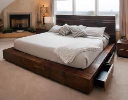 rustic platform bed with storage rustic bedroom furniture log bed mission beds burl wood furnishings this could work if it was closer to the size bedroom ideas light wood