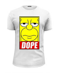 <b>Футболка Wearcraft Premium</b> Slim Fit Homer DOPE #144066 от ...