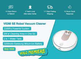 for XIAOMI Mijia STYJ02YM <b>VIOMI</b> V3/V2 PRO/ <b>SE</b> Robot <b>Vacuum</b> ...