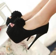 نتيجة بحث الصور عن احذية كعب عالي باللون الاسود
