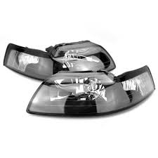 <b>Mustang Black</b> Headlight Kit (99-04) - LMR.com