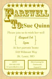 best images about farewell going away invitations going away party invitations farewell burlap