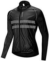 <b>WOSAWE</b> Men's High Visibility Cycling Wind Jacket Water ...
