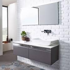 rhodes pursuit mm bathroom vanity unit: roper rhodes pursuit mm wall mounted unit amp worktop