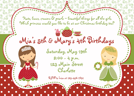 wonderful christmas birthday party invitations theruntime com christmas birthday party invitations to design beautiful birthday invitation card based on your style 139201610