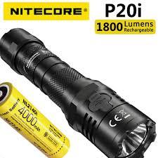 Original <b>NITECORE P20i</b> 1800 lumen, usb c direct charging law ...