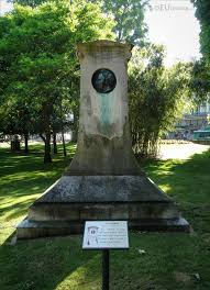 photos of stendhal monument in gardens paris page  stendhal monument designed by charles plumet