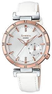 Купить Наручные <b>часы CASIO SHE</b>-<b>4051PGL</b>-<b>7A</b> на Яндекс ...