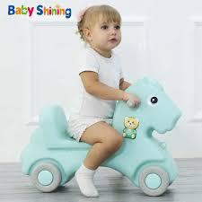 <b>Baby Shining</b> 4 in 1 Slides <b>Rocking</b> Horse for Kids <b>Baby</b> Toys ...