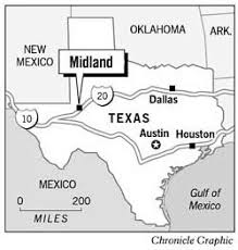 hardscrabble oil town gushes over bush sfgate midland texas chronicle graphic